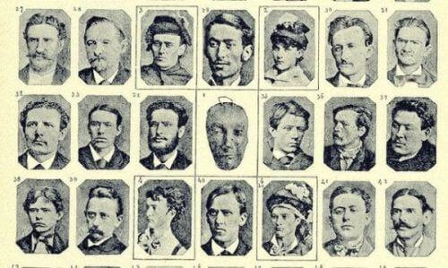 Twarze kryminalistów, które badał Cesare Lombroso