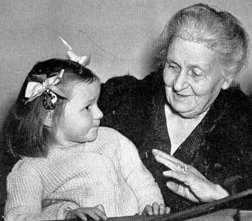 Maria Montessori i dziecko