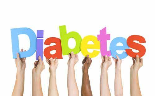 Napis cukrzyca