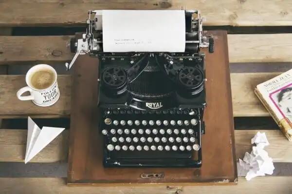 Maszyna do pisania, jaką ma Stephen King