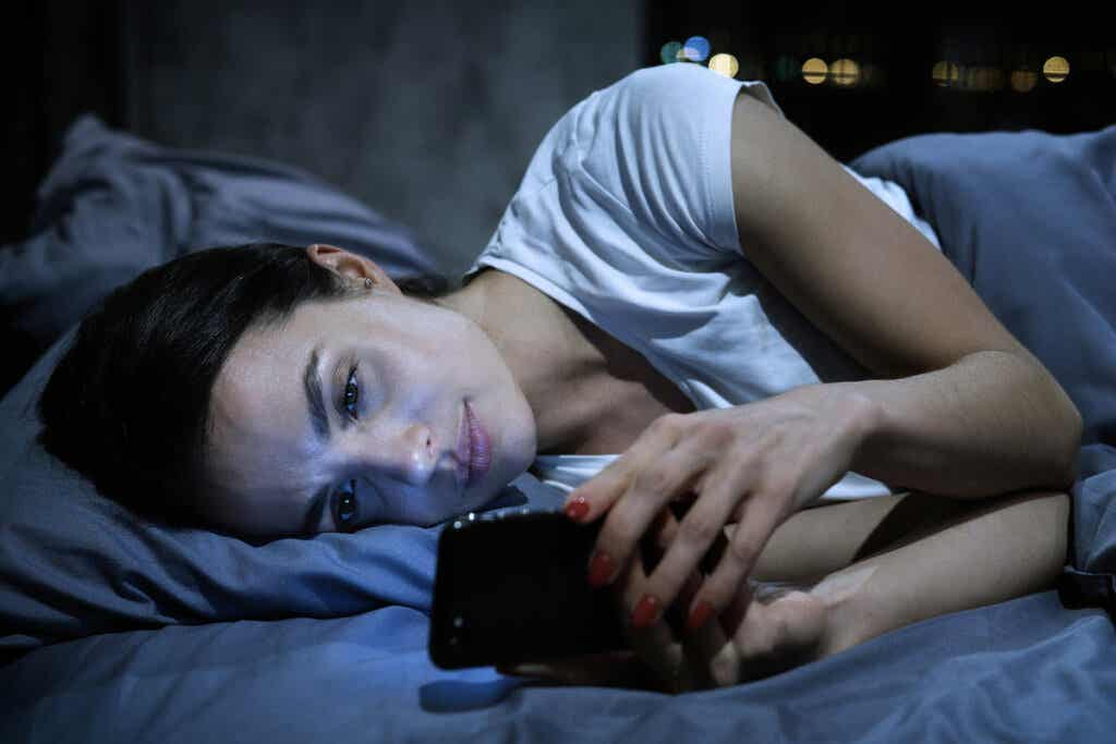Kobieta z telefonem