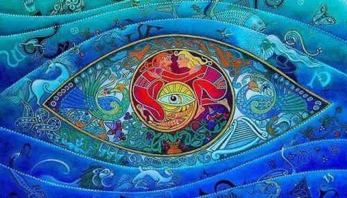 Abstrakcyjne oko - archetypy Junga
