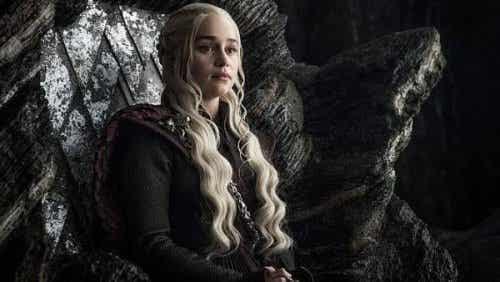 Daenerys Targaryen na tronie