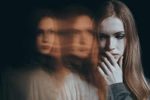 Kobieta z fobią