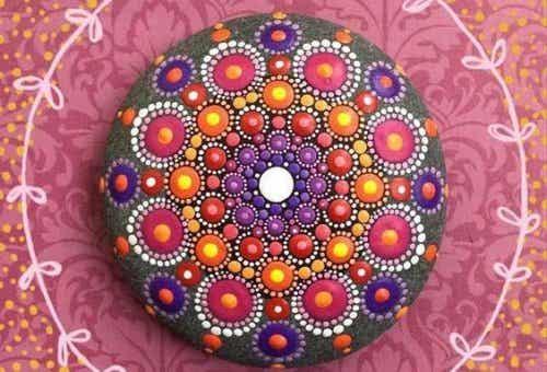 Kolorowa mandala