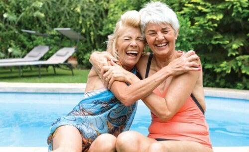 Dwie starsze kobiety