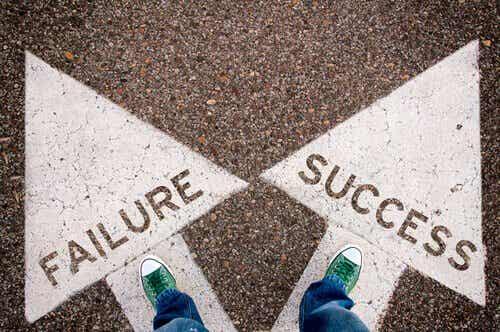 Porażka i sukces a samozaparcie