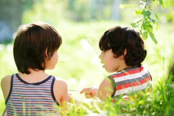 Rozmawiające dzieci