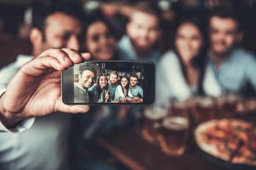 Selfie na spotkaniu