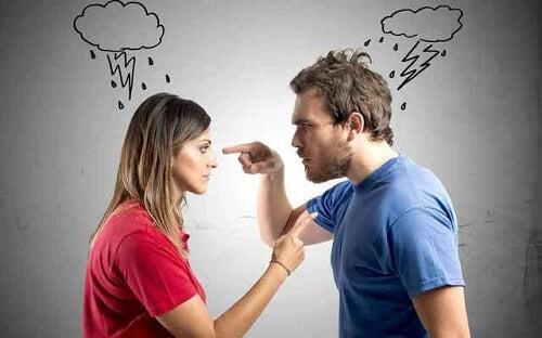 Rodzaje konfliktów - kłótnia