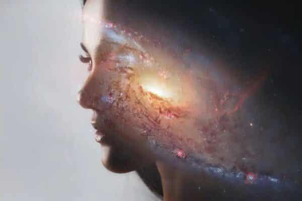 Kosmos w głowie kobiety