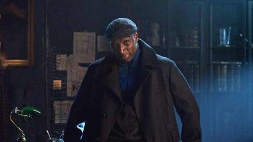 Kadr z serialu Lupin